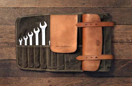 anchordivision:  Deus Ex Machina X MAKR Leather Goods – S/S 2012 – ROLL TOOL | Anchor Division