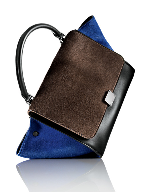 "billidollarbaby:  Celine Tricolor ""Trapeze"" shoulder bag ($3,250)  yes please"