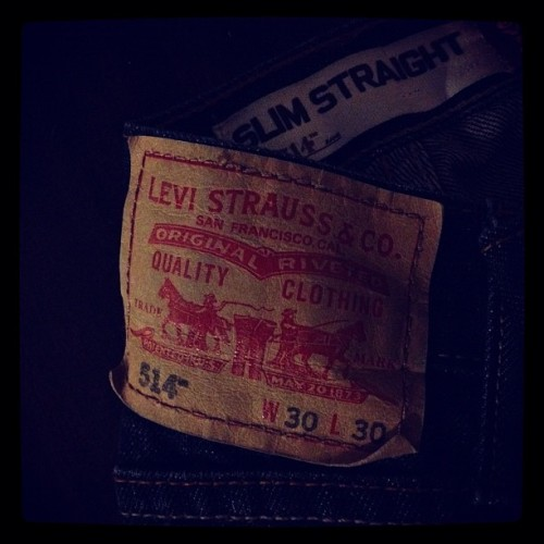 live in 'em - @levis  (Taken with Instagram)
