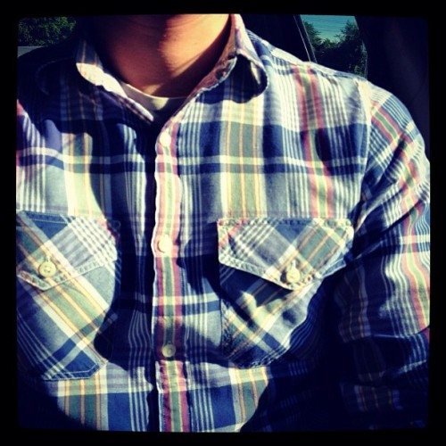madras shirt, @jcrew_insider — (Taken with Instagram)