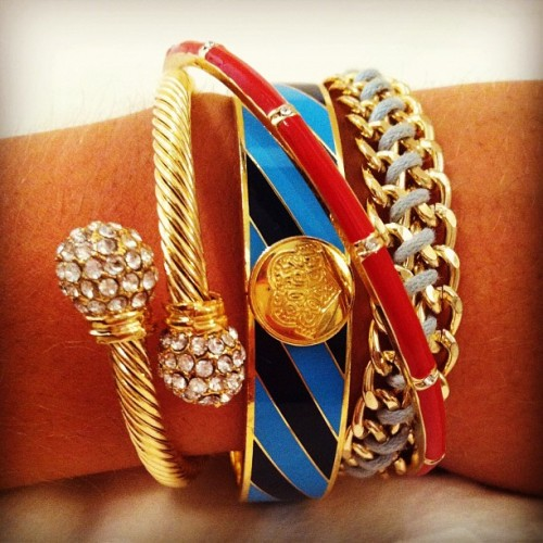 ititsofficial:  Swell Caroline arm party! (Taken with Instagram)