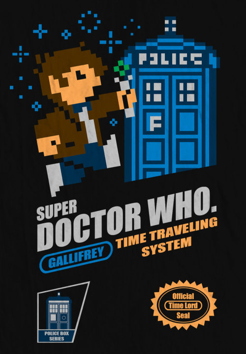 Super Doctor Who by BazNet On sale here!