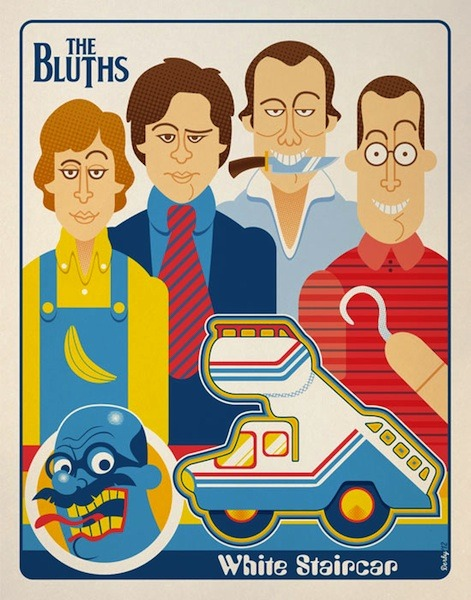 The Bluths Preview Gallery 1988′s 'Arrested Development' Tribute Exhibition via flavorpill