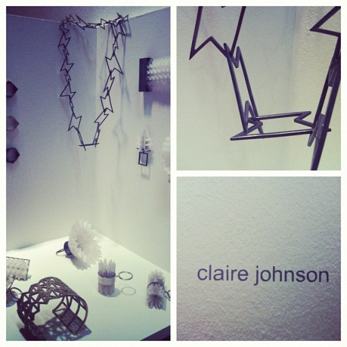 #newdesigners #jeweller #Clairejohnson #jewellery #paper #origami #CAD #mixedmedia #contemporary #applied #arts #london #graduate #2012 #gsa (Taken with Instagram)