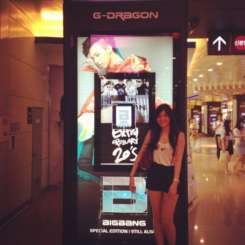 BIGBANG GATE #gangnam #fangirl #moment #kpop #korea #seoul #bigbang #gd (Taken with Instagram)