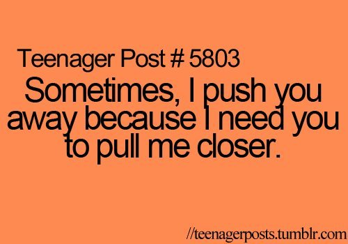 sigridandrea:  Teenager Post #5803