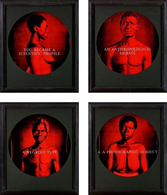You Became a Scientific Profile (1995-96) Carrie Mae Weems