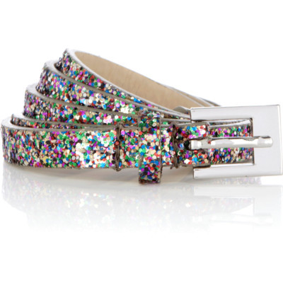 Multi-colored, glitter, skinny belt… $15 Oasis-stores.com Oasis belt