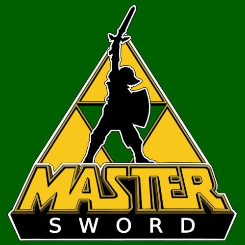 "gamefreaksnz:  ""Link and the Master Sword"" by dutyfreak. USD$26.20 - 20.94€ Follow the artist on Tumblr"