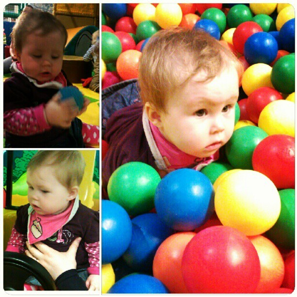 Since I now have Wednesday's off work, we took #sophie to the #softplay Pirate Pete's #babygram #cute  (Taken with Instagram at Pirate Petes)