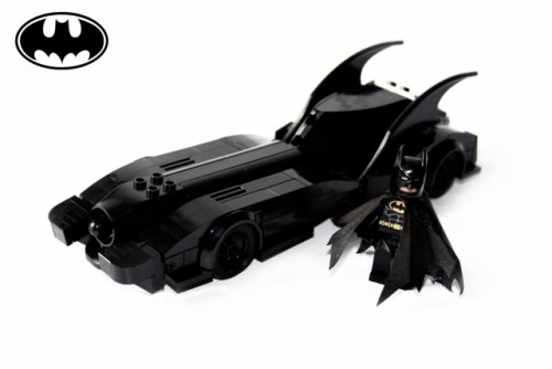 90s Batmobile Based on the 90s movie Batmobil it was pretty much fun to build.