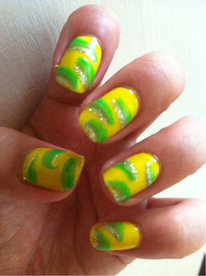 Hot summer I needed these nails!;-)