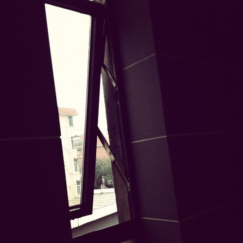 27. Bathroom #photoadayjune - with a decent view (Taken with Instagram)