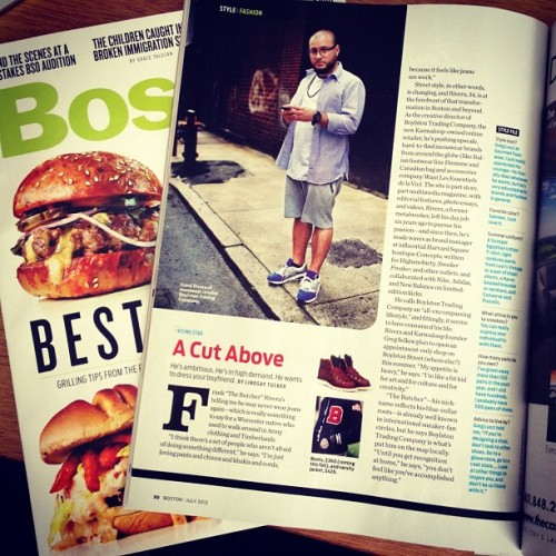 I'm featured in July issue of @BostonMagazine. #BAU  (Taken with Instagram at Business As Usual)