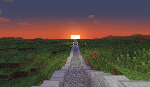 dirt-to-diamond:  sunset