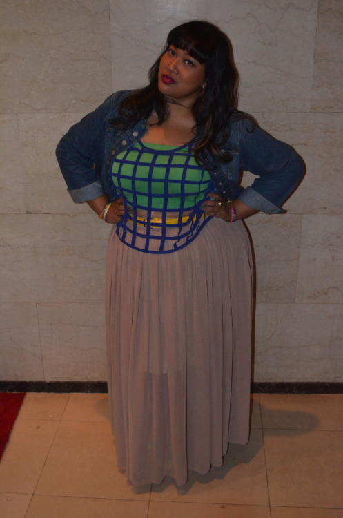 themanfattanproject:  Theary Sim - Designer of Youtheary Khmer. Full Figured Fashion Week™ in NYC.