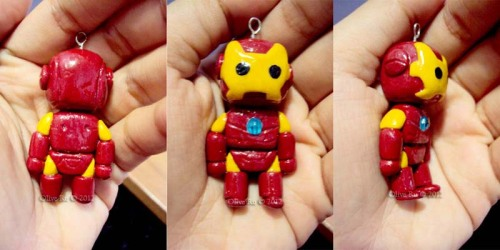 Iron Man chibi charm. A commission for my former office mate. I am open for commissions. Please do not hesitate to message me. :)