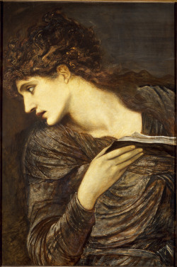 agathasattic:  Head of Nimue, by Edward Burne Jones, 1873