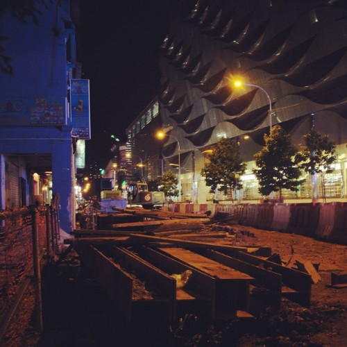 Mustafa Center in Little India, Singapore. (Taken with Instagram)