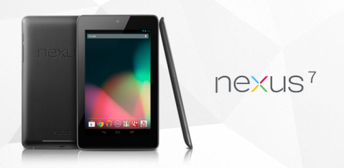 producermatthew:  Oops. Google accidentally uploaded this image of the Nexus 7 tablet for its Android marketplace website before the so-called Kindle-killer was announced at the developer's conference in San Francisco on Wednesday. As of this posting, the tablet still hasn't been officially announced.