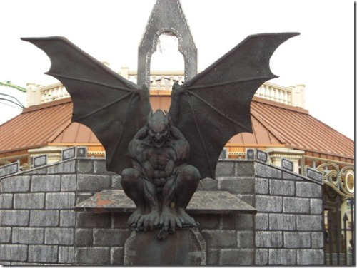Gargoyles    Gargoyles are a major part of gothic architecture. Gargoyles were present on churches all around, which is why they were considered a symbol of protection that would fend off evil. People believed that these gargoyles would come to life in the dead of the night and perform their roles as protectors and when the sunlight came they would settle down on the very same spot. That is an interesting concept, but it can easily be proven wrong. Bottom-line is that gargoyles mean protection.