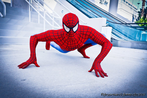 Spider-Man, photographed by Rebecca-Manuel
