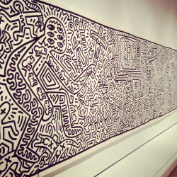 Keith Haring at Brooklyn Museum. Awesome show!