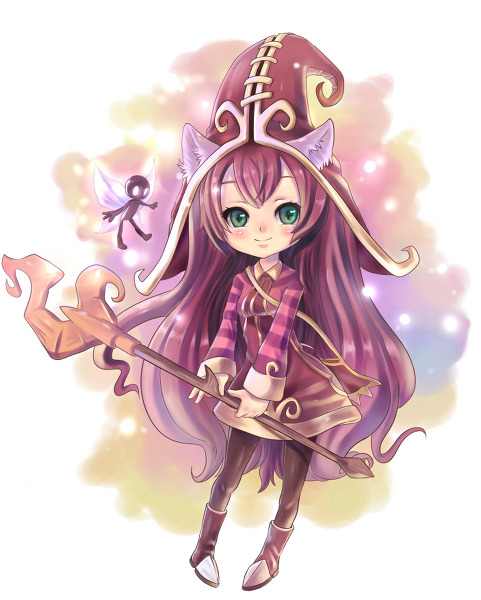 rivenop:   Lulu Lulu from League of Legends Submitted by ~Fuka DeviantArt by ~Fuka-Enrique