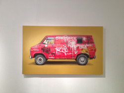 Kevin Cyr at Jonathan Levine Gallery. So glad I caught this show!