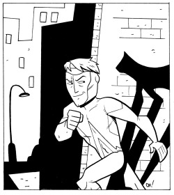 Here I have drawn ANIMAL MAN for you to color! This dude is pretty rad because he can pretend to be any animal. Click here for the full-size. Be sure to let me know how it turns out by giving me a shout on Twitter or dropping it in the Submissions Box! As always, sharing is caring, so if you like this or think other people you know might like to color it, reblog it or print it out and give it to them. xoch