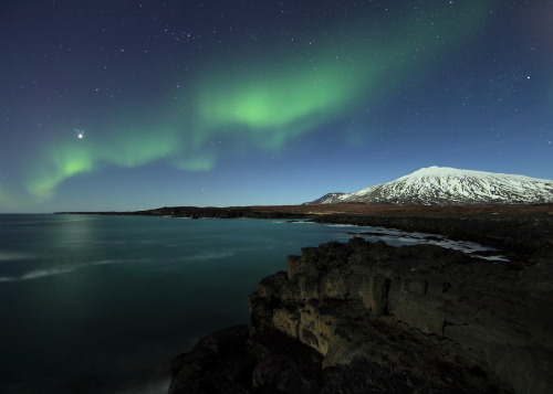 Northern lights Iceland (photo by olgeir) You will also like: two years ago.