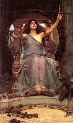 John William Waterhouse (1849-1917), Circe Offering the Cup to Odysseus, 1891, Andrew Lloyd Weber Collection.