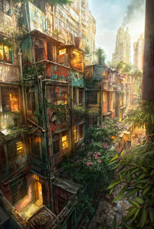 Urban Jungle by *JonasDeRo