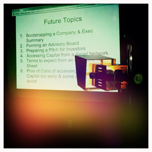 The future topics of @GerardBuckley @INcubes INtensive Day Sessions.