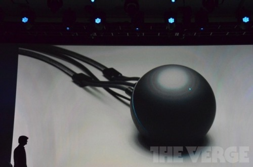 Nexus Q: What the fuck is this? Why trail a product by showing off the fact that it has three massive cables coming out of the back? Surely you photograph stuff like this without cables attached? All I can concentrate on is the cables and the bizarre shape. Nobody wants AV peripherals that are anything other than square or rectangular. Paddington Hard Stare in your direction, Boxee Box. At least it doesn't look like an AirPort Express/Apple TV, I suppose. (I won't be buying one, just in case that's not clear.) (image from The Verge, who are really good at covering stuff like this)