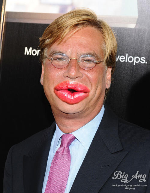 People With Big Ang Lips - Aaron Sorkin Create your own!