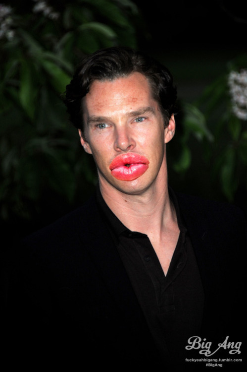 People With Big Ang Lips - Benedict Cumberbatch Create your own!
