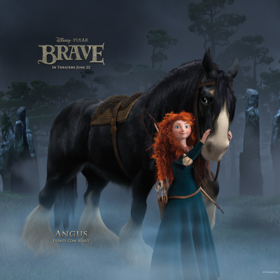 "Disney-Pixar's new movie ""Brave"" has stunning visuals, funny, spunky characters and moments of suspense, but one reason I loved the movie was that it focused on a mother-daughter relationship. The protagonist, Merida, and her mother, Queen Elinor, both struggle with Merida's coming of age and her desire to separate herself from her mother's expectations of her. Ultimately, both mother and daughter realize they can appreciate, challenge and learn from each other's differences with respect and love. Yes, Merida is a pretty princess, but one who is searching not for a handsome prince, but for the path to becoming her truest self. That's kind of enlightened fairy tale I can get behind.   Oh, and it passes the Bechdel Test with flying colors: http://bechdeltest.com/"