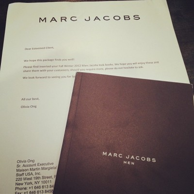 Marc Jacobs spring 2013 lookbook has arrived (Taken with Instagram)
