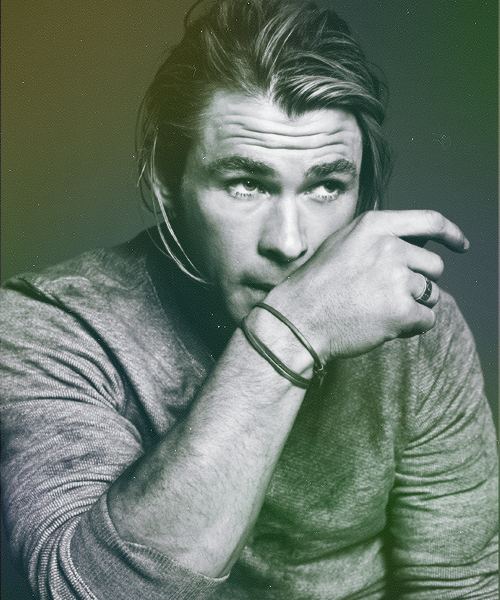 chris hemsworth | gq magazine (us), july 2012