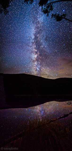 milky way over diemer lake near hagerman pass colorado by tmo-photo on Flickr.