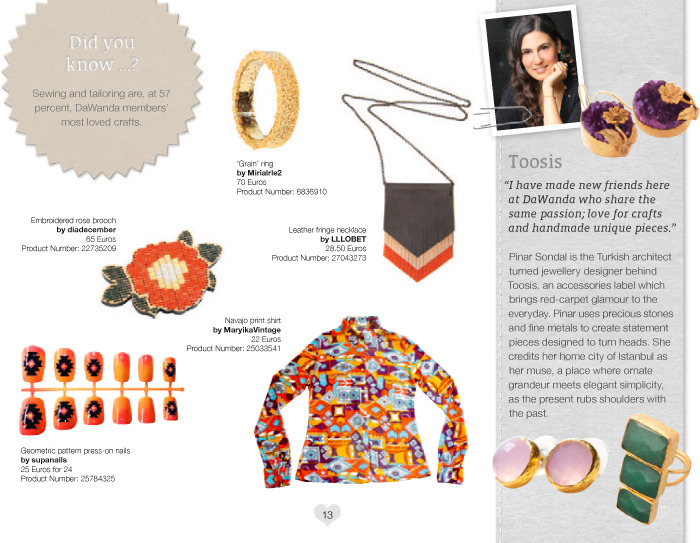 "Supa Nails ""Pattern Pack: Neon"" is featured in DaWanda's Summer Lovebook 2012"