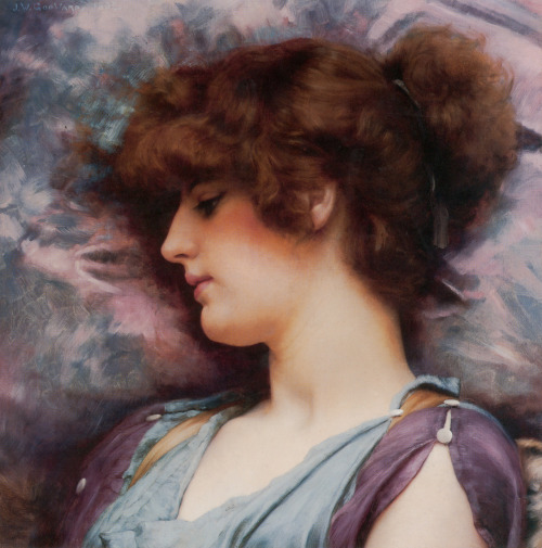 Far Away Thoughts, John William Godward, 1892