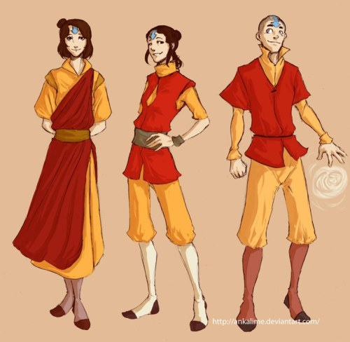 legendofkorraholyshit:  ankalime:  Airbending kids by ~ankalime They're great… and will be just greater as teenagers/adults.  THIS NEEDS HAPPEN. ITS PERFECT