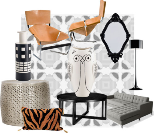 Future living room design inspiration by mgb317 on polyvore.com