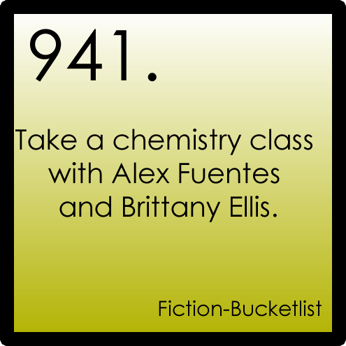 Perfect Chemistry Idea From: Anon