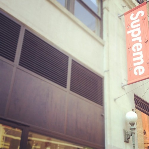 MADE IT TO #SUPREME #NYC  (Taken with Instagram)