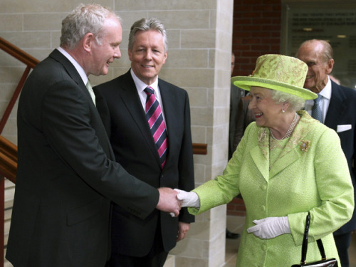 Northern Ireland – Queen's visit to the province a landmark event.