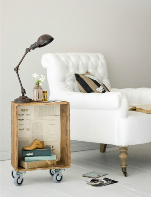♥ the side table