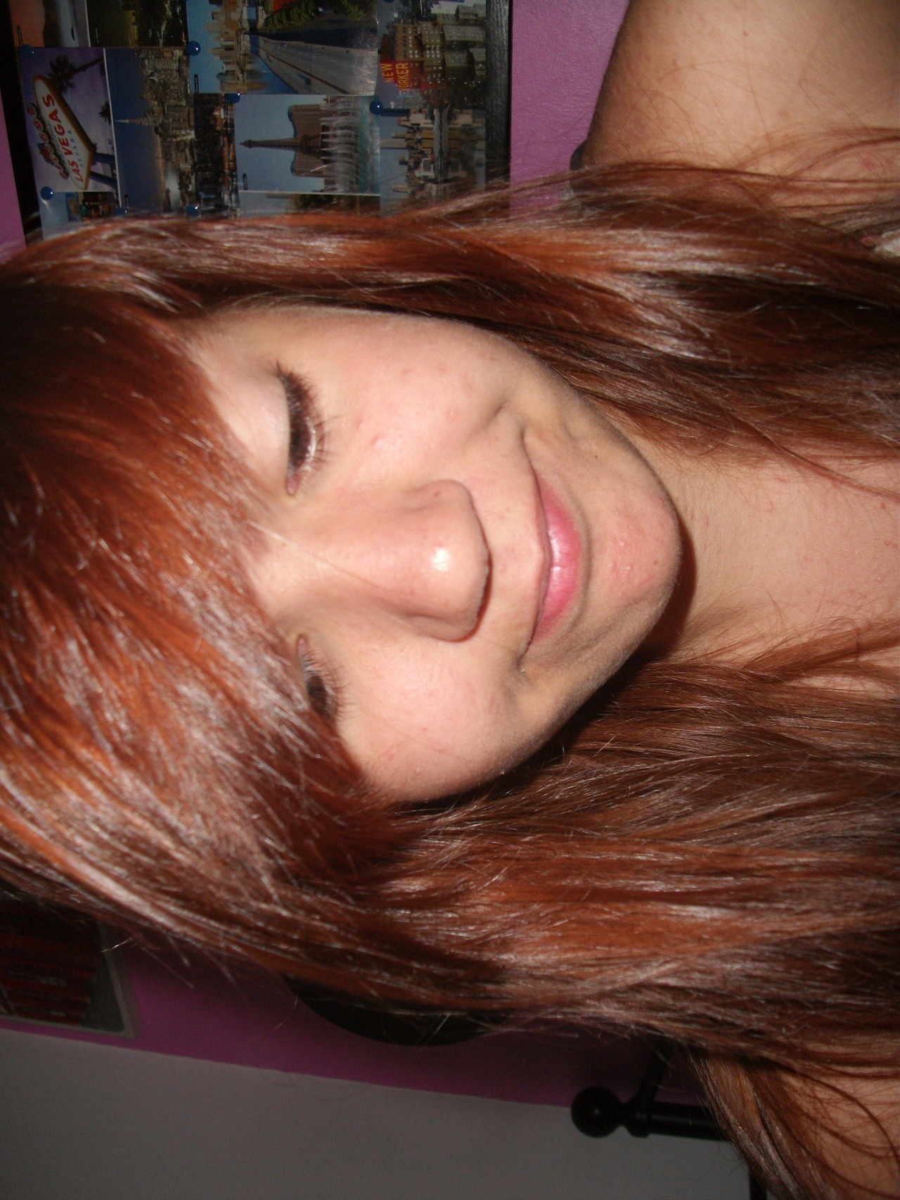 just dyed my hair c: